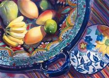 Acrylic paintings on canvas.
